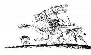 Korky Paul Dragon