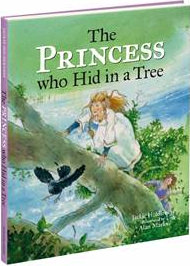 The Princess who Hid in a Tree book cover