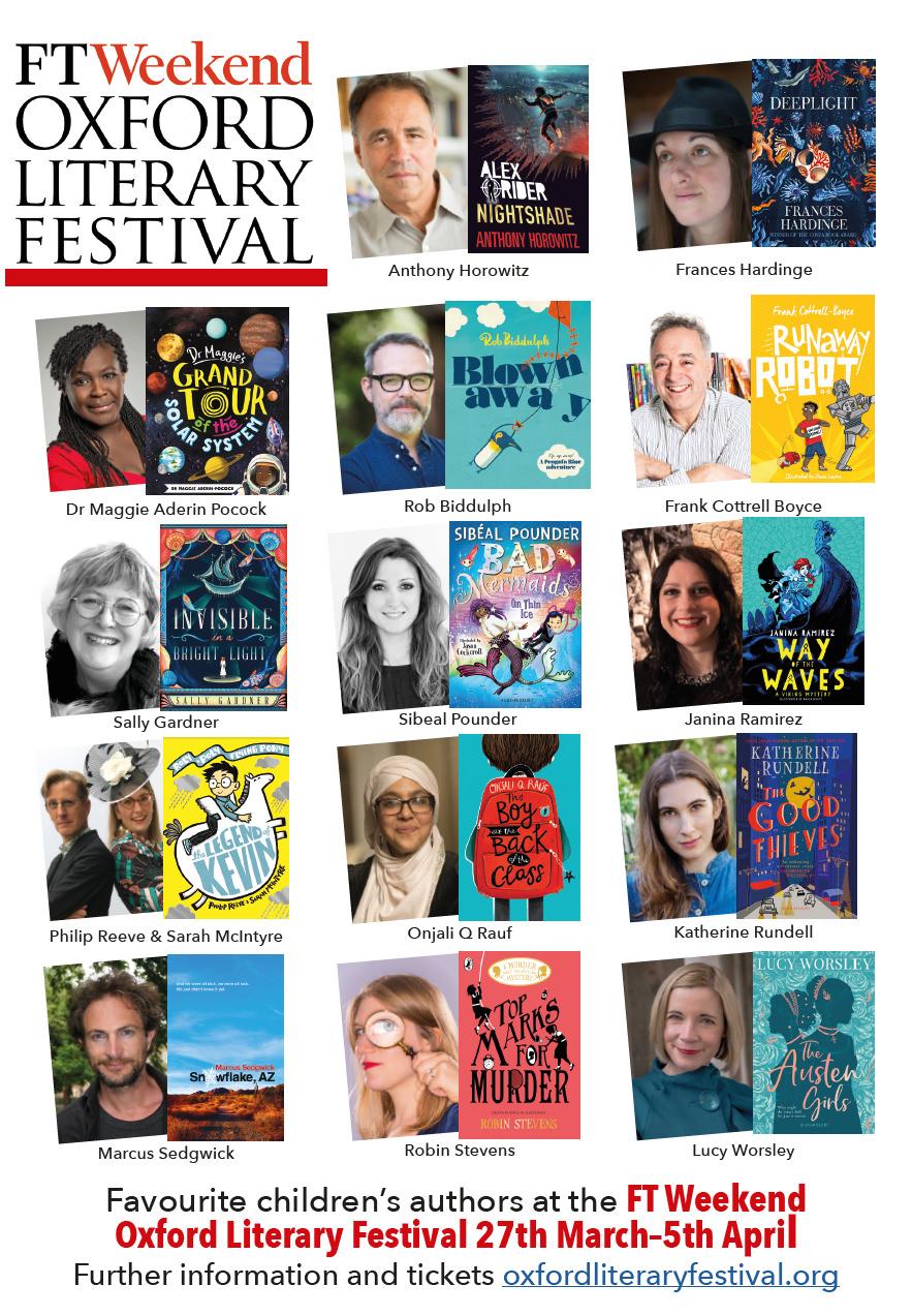 Oxford Literary Festival Poster